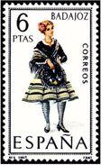ESPAÑA 1967 - TRAJES TIPICOS REGIONALES - BADAJOZ - EDIFIL Nº 1772 - YVERT 1431** - 1931-Aujourd'hui: II. République - ....Juan Carlos I