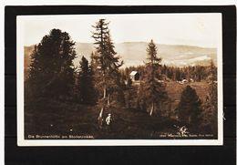 LKW382 POSTKARTE  JAHR 1921 DIE BRUNNENHÜTTE  Am STODERZINKEN GEBRAUCHT SIEHE ABBILDUNG - Österreich