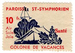 (I.B) France Cinderella : St Symphorien Holiday Savings Scheme 10Fr - Europe (Other)