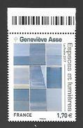 France 2017 - Yv N° 5189 ** - Geneviève Asse  - (Mi N° 6916) - Unused Stamps