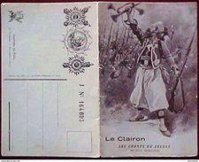 CPA MILITARIA GUERRE 14 18 LE CLAIRON LES CHANTS DU SOLDAT PAUL DEROULEDE - Guerre 1914-18