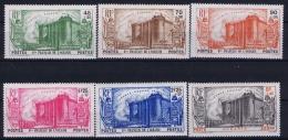 Oceanie Yv Nr 130 - 134 + Ae 2 MH/* Flz/ Charniere  1939  Yv 133 (1,25) Tache Mince/thin Spot  Anniversaire De La Révolu - Oceania (1892-1958)