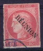 Reunion Yv Nr 12  Obl./Gestempelt/used - Reunion Island (1852-1975)