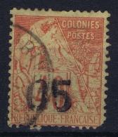 Madagascar  Yv Nr  4 Obl./Gestempelt/used  1891 - Madagascar (1889-1960)