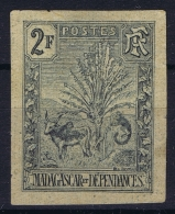 Madagascar  Yv Nr  76 A Mi Nr 71 Non Dentelé  1903 Not Used (*) SG  Petit Tache Mince/thin Spot - Madagascar (1889-1960)