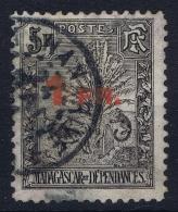 Madagascar  Yv Nr  124  Obl./Gestempelt/used   1921 - Madagaskar (1889-1960)