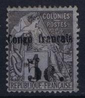 Congo  Yv Nr 1  MH/* Flz/ Charniere 1891 - Französisch-Kongo (1891-1960)