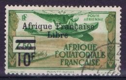 AEF Yv Nr AE 20  Used Obl - A.E.F. (1936-1958)