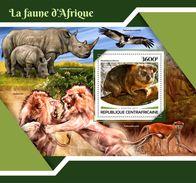 Central Africa. 2017 African Fauna. (703b) - Rhinozerosse