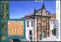 BRAZIL 2017 -   BAROQUE STYLE  CHURCH   -  S/S  MINT - Brésil