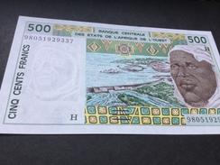 W.A.S. NIGER P610Hi 500 Francs 1998.   UNC. - Niger