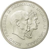 Danemark, Frederik IX, 5 Kroner, 1960, Copenhagen, SPL, Argent, KM:852 - Dänemark