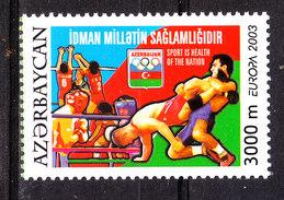 Azerbaidjan  -  2003. Europa: Sport Diversi. Lotta, Volley Ed Altri. Sports: Wrestling, Volley And Others. MNH - Lotta