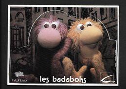Les Badaboks Marionnettes TF1 émission Télé / Sticker écusson Adhésif Autocollant Année 80 - Autocollants