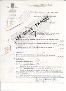 30 - Gard - ARRE - Facture BRUN - Tissus - 1926 - REF 79B - France
