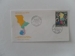TCHAD FDC 5eme CONFERENCES DES CHEFS D'ETAT DE L'AEF - Ciad (1960-...)