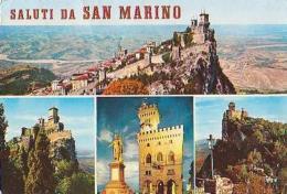 San Marin        H7       Saluti Da San Marino ( 4 Vues ) - San Marino