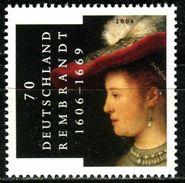 BRD - Michel 2550 - ** Postfrisch (A) - 70C  Rembrandt - Ungebraucht