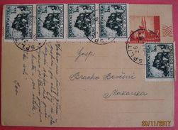 NDH Dopisnica Used In Split / Spalato  06.07.1944. RRR - Kroatien