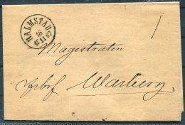 1867 Sweden Halmstad Fribrev Entire - Sweden