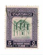 GIORDANIA, JORDAN, MONUMENTI, 1956, FRANCOBOLLI USATI Yvert Tellier 302   Scott 310 - Giordania