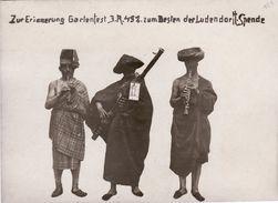 Photo Juin 1918 En Mémoire De La Fête Du IR452, Musicien, à Sancourt ?? (A183, Ww1, Wk 1) - Oorlog 1914-18