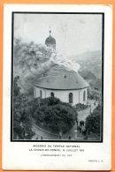 MAI092, La Chaux-De-Fonds, Incendie Du Temple National En 1919, édit. Haefeli, Non Circulée - NE Neuchâtel