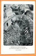 MAI102, La Chaux-De-Fonds, Incendie Du Temple National En 1919, Les Ruines, édit. Haefeli, Non Circulée - NE Neuchatel