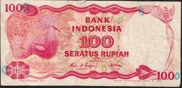 INDONESIA P122 100 RUPIAH  1984  FINE - Indonésie