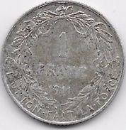 Belgique - 1 Franc 1909 - Argent - 1909-1934: Albert I
