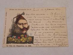 Carte Postale Musée Des Souverains N°IV Le Clou De L'exposition - Satira