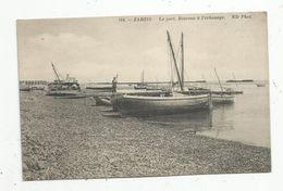 Cp, Bateaux à L'échouage , TUNISIE , ZARZIS , Le Port  , écrite , Ed : ND Phot. ,n° 154, écrite 1914 - Pêche