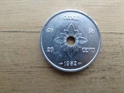 Laos  20  Cents  1952  Km 5 - Laos