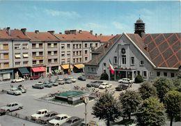 ¤¤   -  CHARMES   -  Hôtel De Ville Et Place Henri-Breton    -  ¤¤ - Charmes