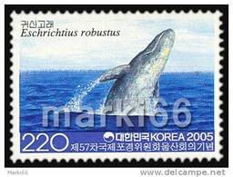 South Korea - 2005 - 75th Meeting Of Intl. Whaling Commission - Gray Whale - Mint Stamp - Korea (Süd-)
