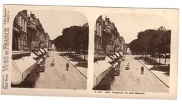 PERIGUEUX - Photo  Stéréoscopique -  La Place Bugeaud - Périgueux