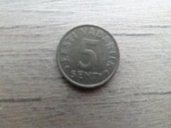 Estonie  5  Senti  1992  Km 21 - Estonia