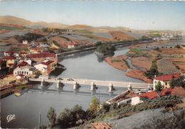 ¤¤   -   BEHOBIE   -   Frontière Franco-Espagnols Et Le Pont International Et L'Ile Des Faisans    -  ¤¤ - Béhobie