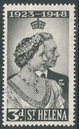 St Helena. 1948 Royal Silver Wedding. 3d MH. SG 143 - Saint Helena Island