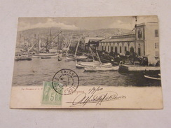 Carte Postale Turquie Smyrne (Izmir) La Douane Et Le Port 1900 - Turquie