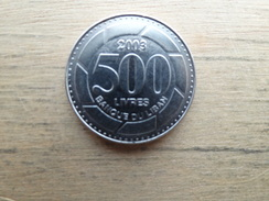 Liban  500 Livres  2003  Km 39 - Lebanon