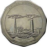 Madagascar, 50 Ariary, 1992, SUP+, Stainless Steel, KM:20 - Madagascar