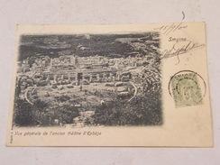 Carte Postale Turquie Smyrne (Izmir) Vue Générale Théâtre D'Ephèse 1900 - Turchia