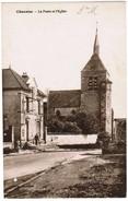 CPA Chenoise, La Poste Et L'eglise (pk35937) - Francia