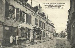( PITHIVIERS ) ( 45 )( LOIRET )(COMMERCE ) UN DES MAGASINS G.BOULMIER ( RARE CLICHE ) - Pithiviers