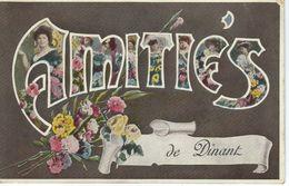 Amitiés De DINANT - Cachet De La Poste 1909 - Dinant
