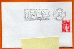 94 SUCY EN BRIE   PHILATELIE POLAIRE    1978 Lettre Entière N° J 960 - Annullamenti Meccanici (pubblicitari)