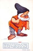 AK WALT DISNEY SNOW WHITE AND THE SEVEN DWARFS DOC 1930's   Unused  X 2771 - Disneyworld