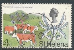 St Helena. 1968 Definitives. 4d Used. SG 231 - Saint Helena Island