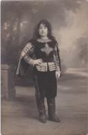 Bk - Carte Photo (Mousquetaire Pour Son Premier Bal Masqué) 1923 - Theatre